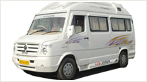 8 Seater Tempo Traveller Hire