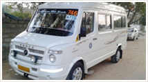 10 Seater Tempo Traveller Hire